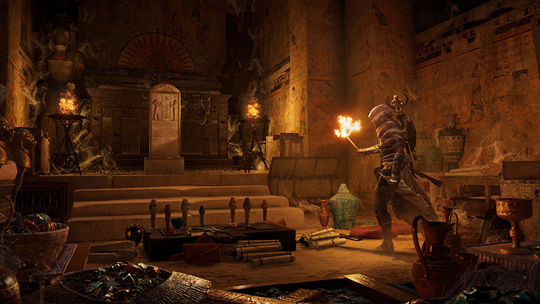 Assassin'as Creed Origins: Grabmale, antike Tafeln und Mechanismen