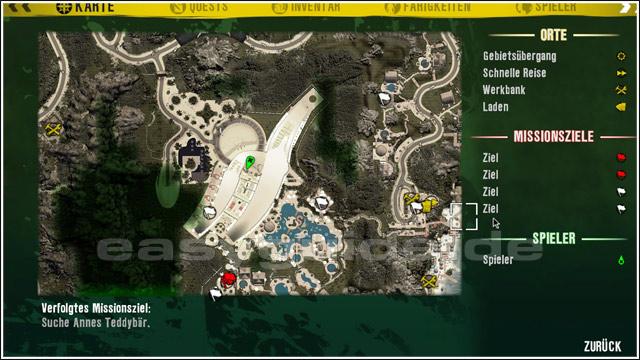 Dead Island Auf Der Strasse Karte