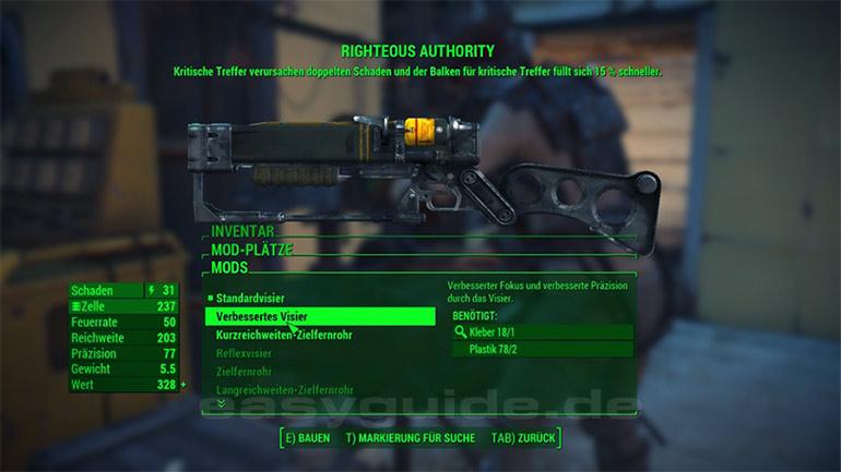 Fallout 4 Einzigartige Waffen Fundorte 4 4 Ps4