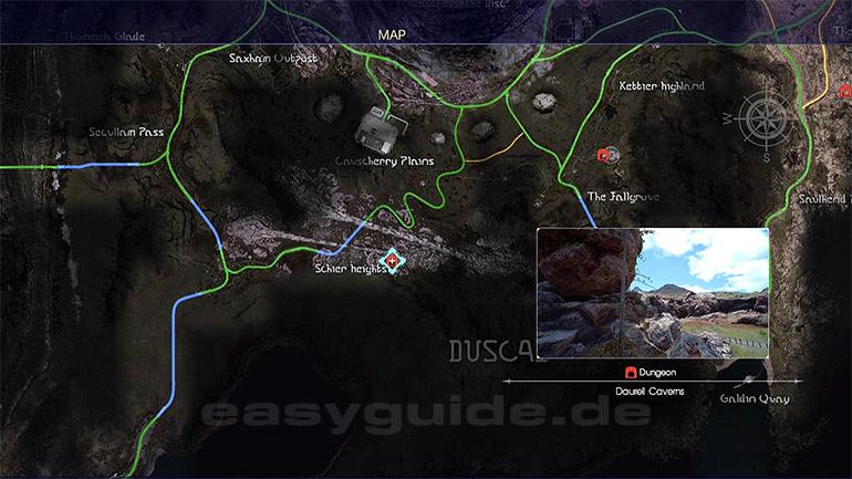 The Forest Karte Höhlen.Final Fantasy Xv Dungeon Daurell Höhlen Ps4