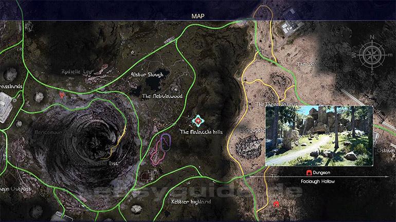 The Forest Karte Höhlen.Final Fantasy Xv Dungeon Fociaugh Höhle Ps4