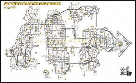 Gta 4 Karte.Grand Theft Auto Iv Die Fundorte Der 200 Versteckten Tauben
